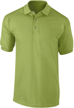 PLAYERA TIPO POLO VERDE